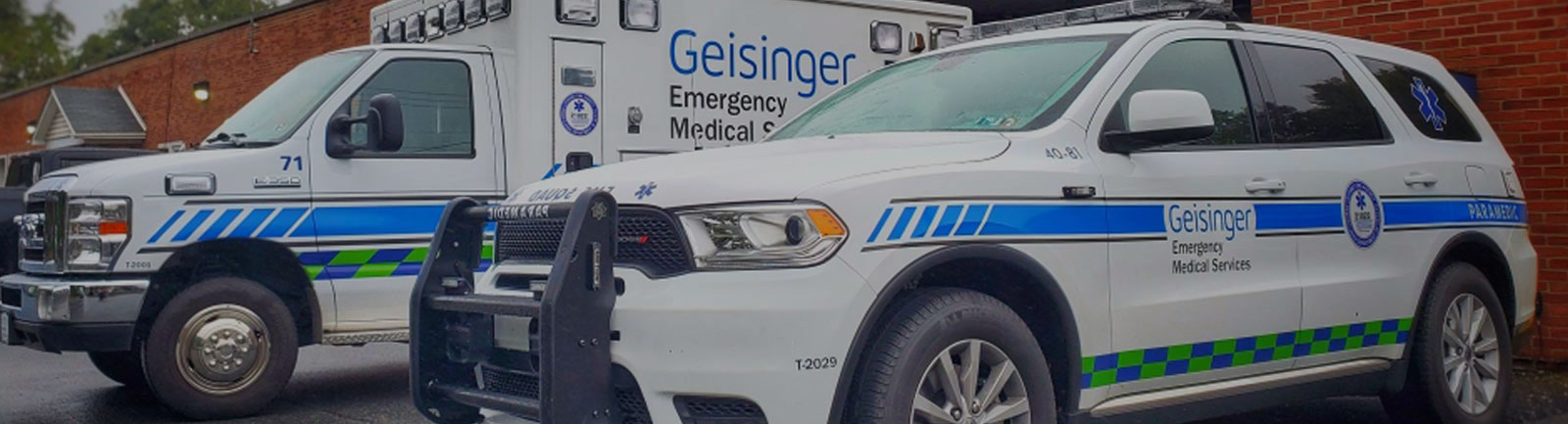 geisinger ems vehicles